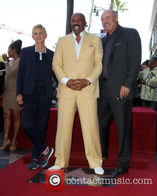 Ellen Degeneres, Steve Harvey and Dr. Phil Mcgraw 7