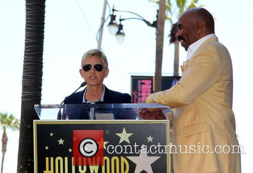 Ellen Degeneres and Steve Harvey 10