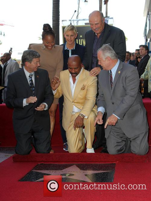 Leron Gubler, Marjorie Bridges-woods, Ellen Degeneres, Dr. Phil Mcgraw, Steve Harvey and Councilman Tom Labonge