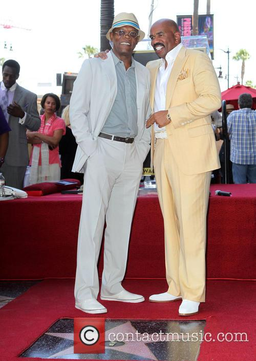 Samuel L. Jackson and Steve Harvey 2