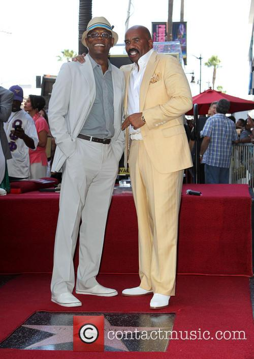 Samuel L. Jackson and Steve Harvey 3