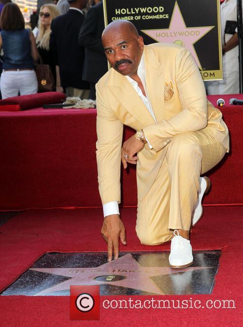 Steve Harvey, On The Hollywood Walk Of Fame