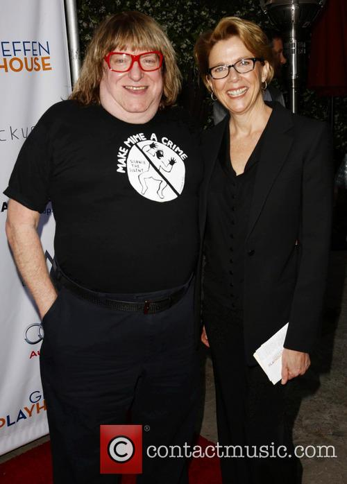 Bruce Vilanch and Annette Bening 2