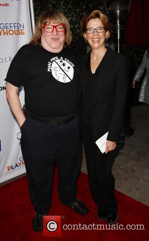 Bruce Vilanch and Annette Bening 3