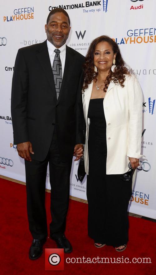 Norm Nixon and Debbie Allen 2