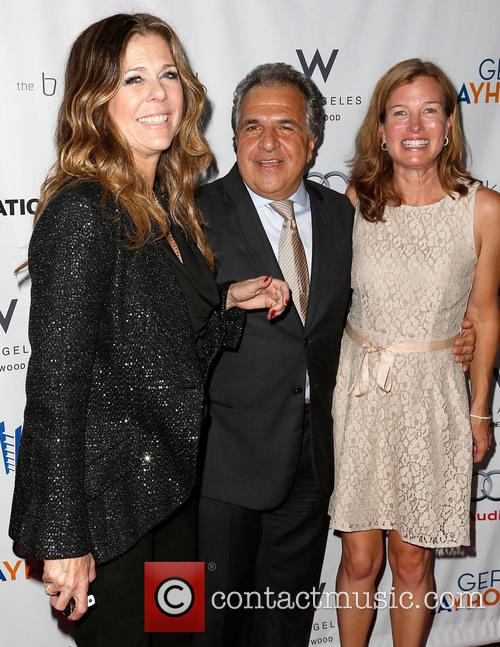 Rita Wilson, Jim Gianopulos and Guest 4