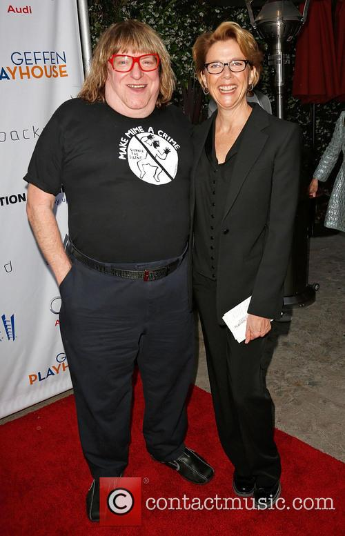Bruce Vilanch and Annette Bening 7