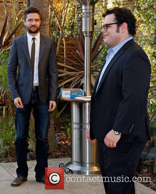 Topher Grace and Josh Gad 7