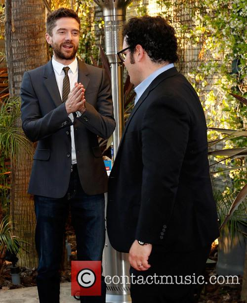Topher Grace and Josh Gad 9