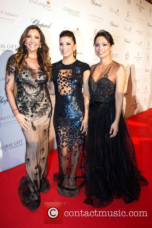 Maria Bravo, Eva Longoria and Alina Peralta 2