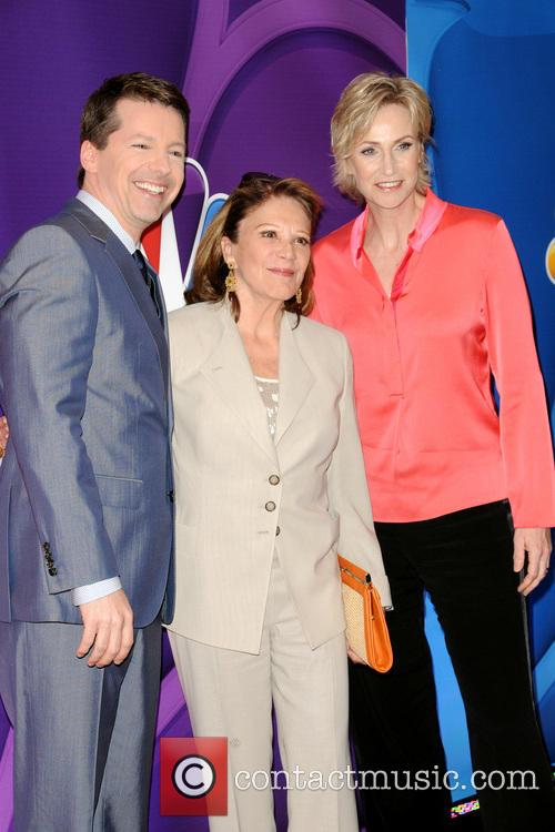 Sean P. Hayes, Linda Lavin and Jane Lynch 4