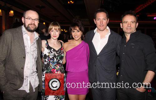 Dennis Kelly, Lauren Ward, Lesli Margherita, Bertie Carvel and Matthew Warchus