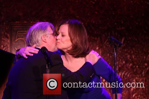 Christopher Durang and Sigourney Weaver 1
