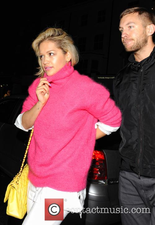 Rita Ora and Calvin Harris 5