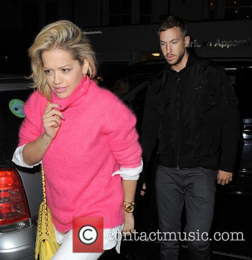 Rita Ora and Calvin Harris 3