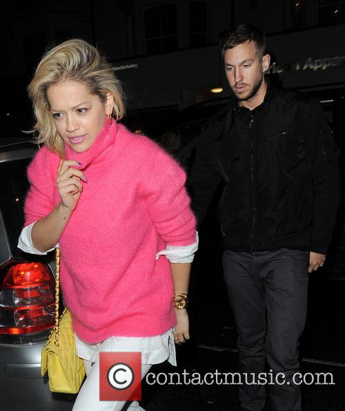Rita Ora and Calvin Harris 7