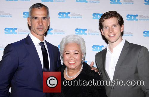 Jerry Mitchell, Joy Abbott and Stark Sands 3