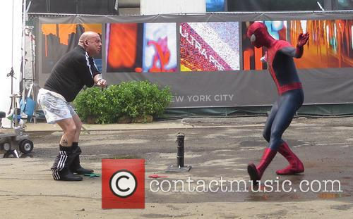 Amazing Spider-Man 2 filming