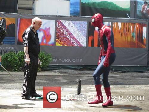 Andrew Garfield and Paul Giamatti 4