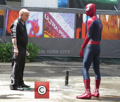 Andrew Garfield and Paul Giamatti 8