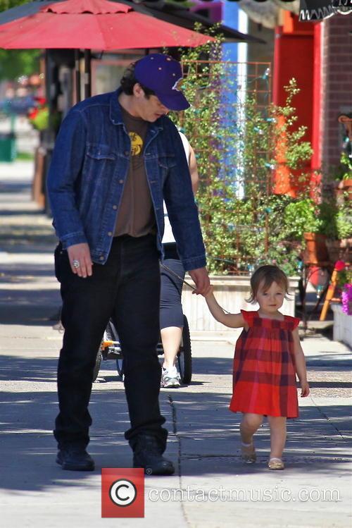 Benicio Del Toro and Delilah Del Toro 4