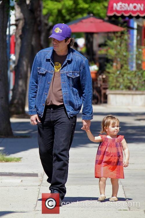 Benicio Del Toro and Delilah Del Toro 6