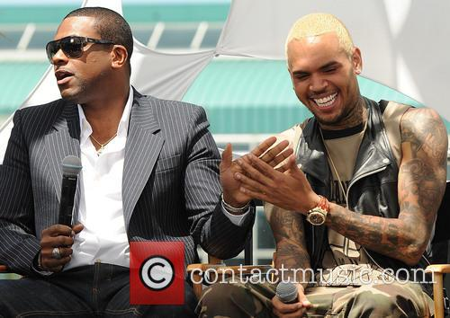 Chris Tucker and Chris Brown 11