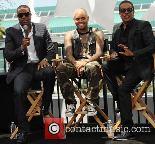 Chris Tucker, Chris Brown and Charlie Wilson 2