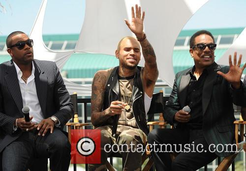 Chris Tucker, Chris Brown and Charlie Wilson 6