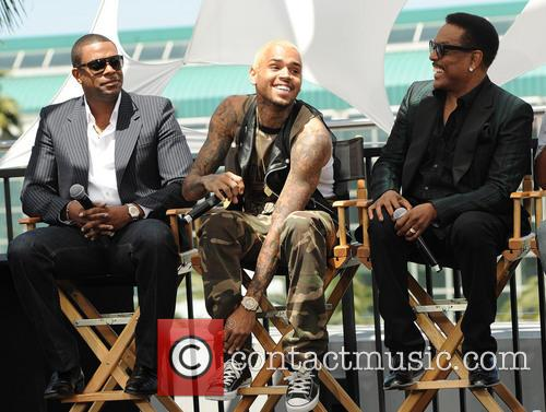 Chris Tucker, Chris Brown and Charlie Wilson 9