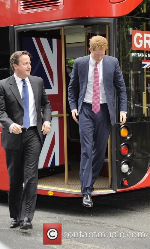 Prince Harry and David Cameron 3