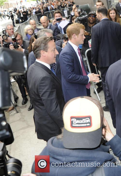 Prince Harry and David Cameron 8