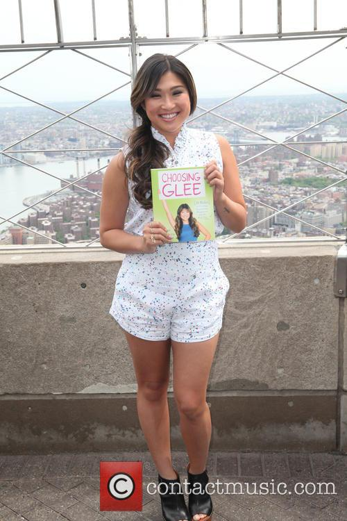 Jenna Ushkowitz promotes book at The Empire State...