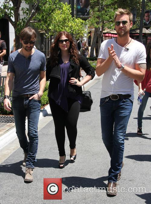 Lady Antebellum, Hillary Scott, Charles Kelley and Dave Haywood 1