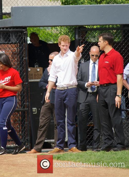 Prince Harry, Mark Teixeira and Harlem 7