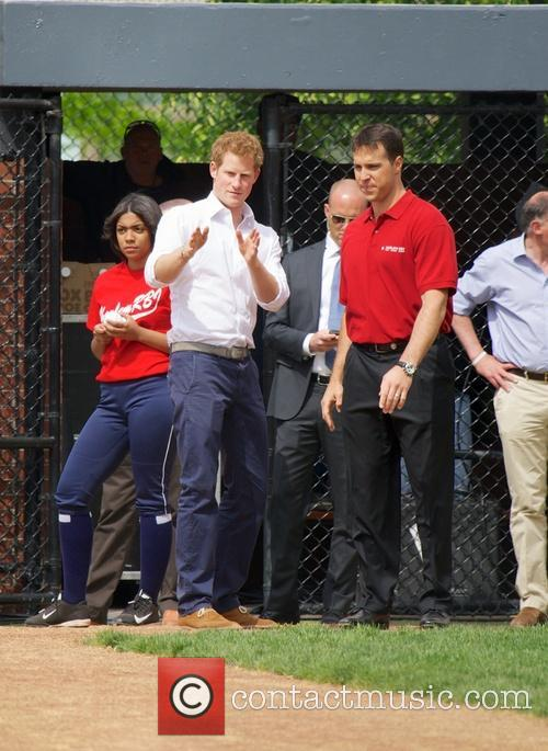 Prince Harry, Mark Teixeira and Harlem 8