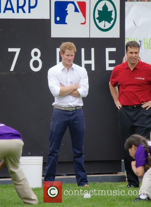 Prince Harry, Mark Teixeira and Harlem 11