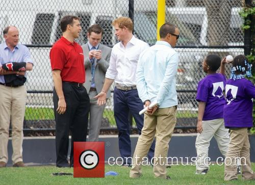 Prince Harry, Mark Teixeira and Harlem 20
