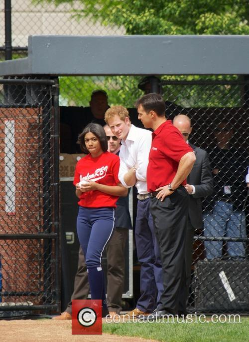 Prince Harry, Mark Teixeira and Harlem 22