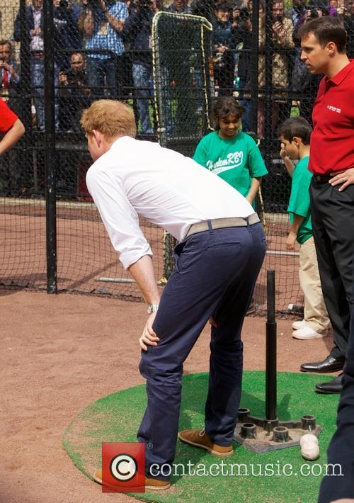 Prince Harry, Mark Teixeira and Harlem 23