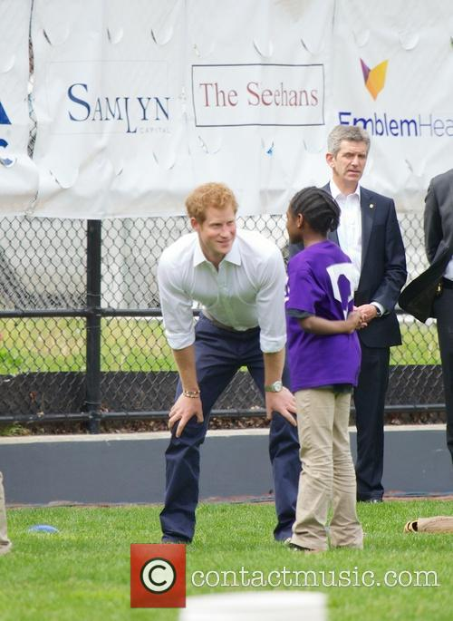 Prince Harry and Harlem 9
