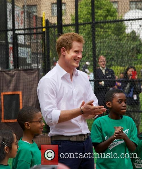 Prince Harry and Harlem 12