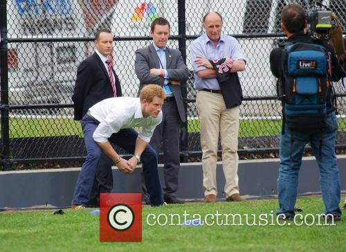 Prince Harry and Harlem 13