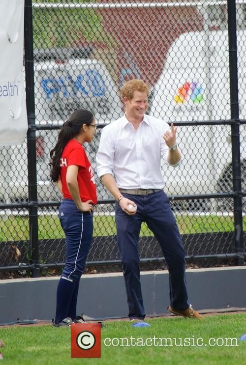 Prince Harry and Harlem 15