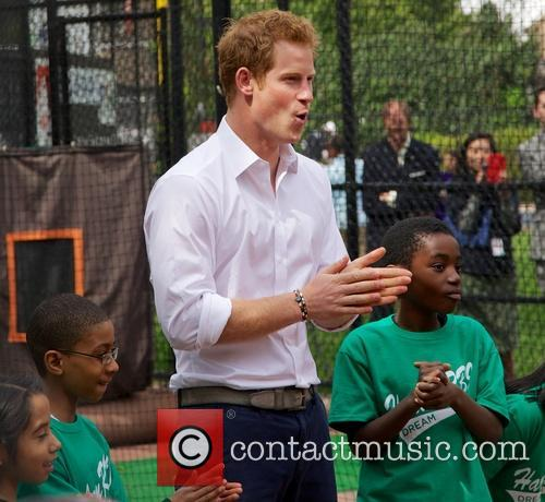Prince Harry and Harlem 23
