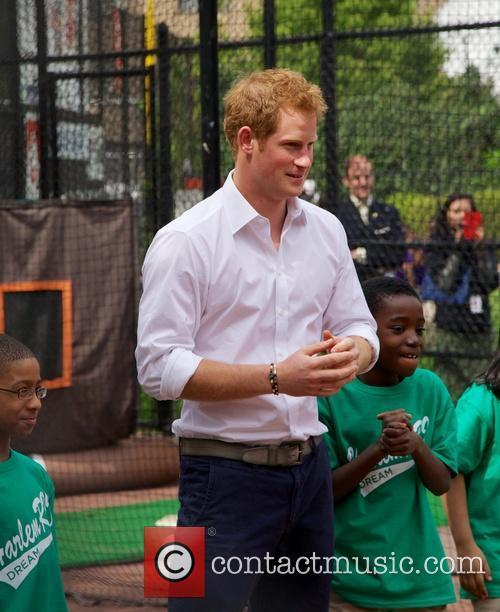 Prince Harry and Harlem 27
