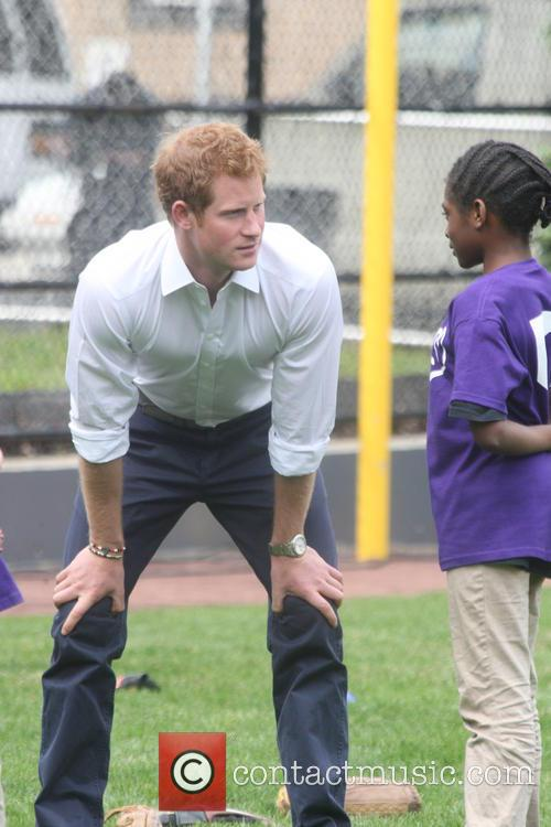 Prince Harry and Harlem 39