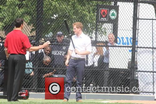 Prince Harry and Harlem 44