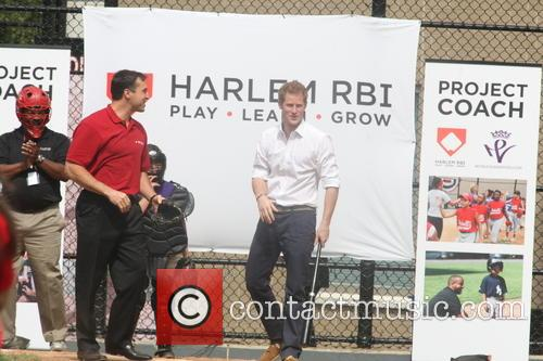 Prince Harry and Harlem 50