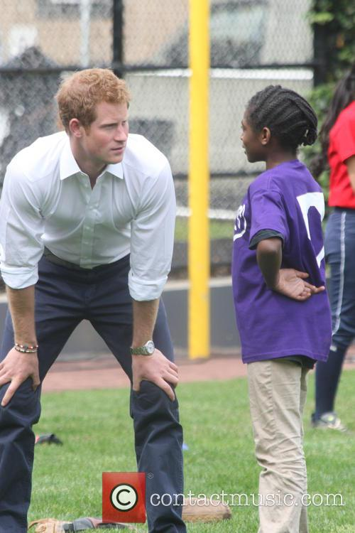 Prince Harry and Harlem 30